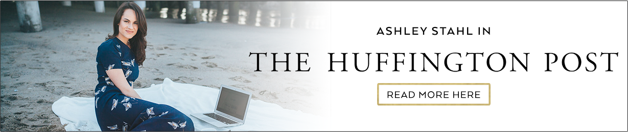 Ashley Stahl in The Huffington Posts