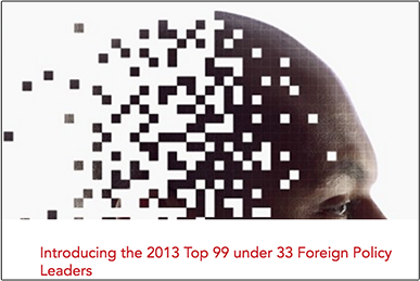 Top 99 Under 33 Foreign Policy Leader diplomaticourier.com