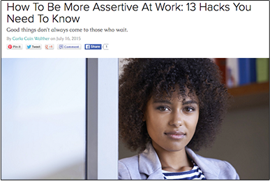 How To Be More Assertive At Work: 13 Hacks You Need To Know WEWOMEN