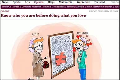 Know who you are before doing what you love DAILY CALIFORNIAN