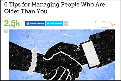 6 Tips for Managing People Who Are Older Than You mashable