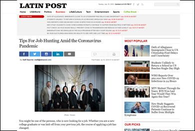 Tips For Job Hunting Amid the Coronavirus Pandemic